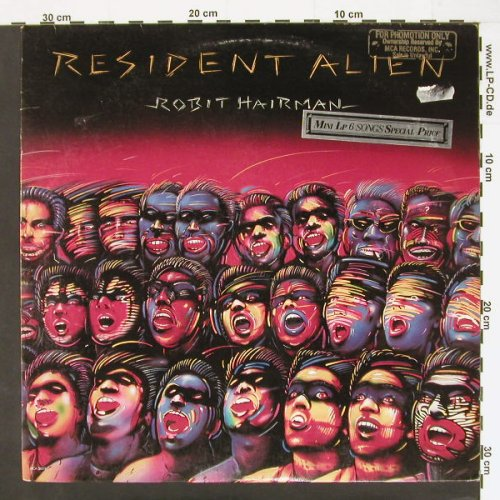 Hairman,Robit: Resident Alien,6 Tr., vg+/vg+, MCA(36013), US, 84 - LP - C785 - 2,50 Euro