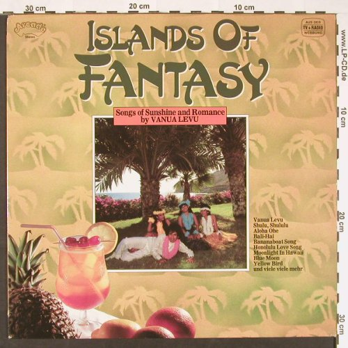 Islands Of Fantasy: Songs Of Sunshine...by Vanua Levu, Arcade(ADEG 132), D,  - LP - C9105 - 5,50 Euro