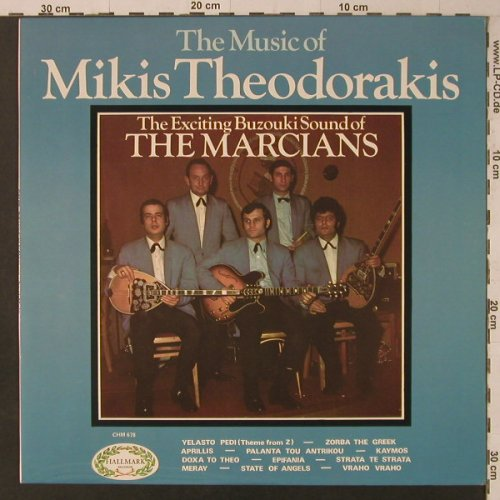 Marcians: The Music of Mikis Theodorakis, Hallmark(85 154 ZT), UK, 1970 - LP - F5700 - 4,00 Euro