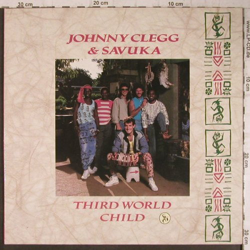 Clegg,Johnny & Savuka: Third World Child, Foc, EMI(24 0733), NL, 1987 - LP - F7961 - 6,00 Euro