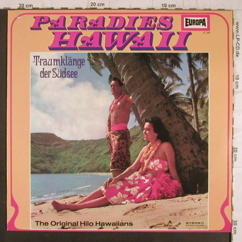 Hilo Hawaiians - Orginal: Paradies Hawaii, Europa(E 342), D,  - LP - F8335 - 5,00 Euro