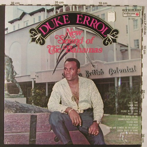 Errol,Duke: New Sound Of The Bahamas, edem Records(ER-1002), Bahamas,  - LP - F879 - 7,50 Euro