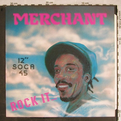 Merchant: Rock it.../ Pan in Danger, (Soca), Hot Vinyl(POSPX 764), UK, 1985 - 12inch - H8612 - 4,00 Euro