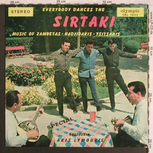 Bouzoukia - Akis Lymouris: Everybody Dances the Sirtaki, Olympic Record(SBL 1003), GR,  - LP - X3960 - 6,50 Euro