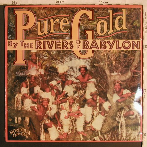 Pure Gold: By the Rivers of Babylon, FS-New, Shanachie(64018), US, co, 1989 - LP - X4434 - 7,50 Euro
