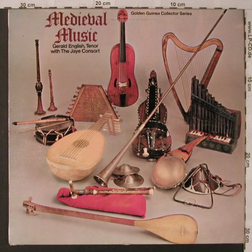 English,Gerald & Jaye Consort: Medieval Music, Pye(GGC 4092), UK, 1967 - LP - K6915 - 9,00 Euro