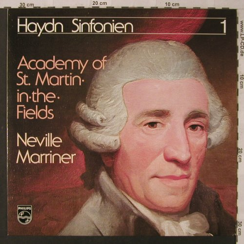 Haydn,Joseph: Sinfonien 1, Club-Edition, Philips(34 607 2), D,  - LP - K6950 - 4,00 Euro