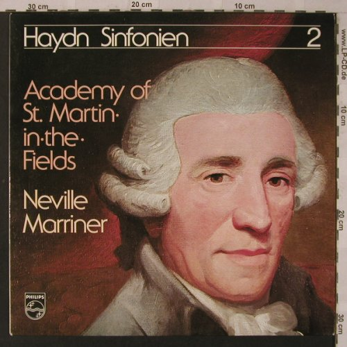 Haydn,Joseph: Sinfonien 2, Club-Edition, Philips(34 608 0), D, 1976 - LP - K7276 - 5,00 Euro