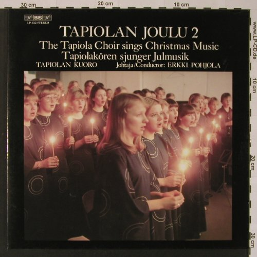 Tapiola Choir: Sings Christmas Music, Foc, BIS(LP-132), SF,  - LP - K7471 - 5,00 Euro