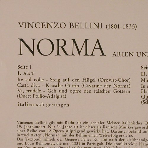 Sutherland,Joan: In Bellini's Norma-Highlights, RCA(LSC 2842-2), D,  - LP - K7905 - 9,00 Euro