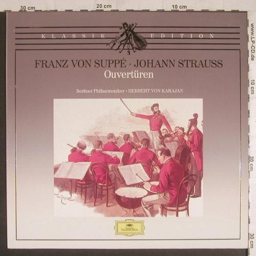 Suppe,Franz von: Ouvertüren , Club Edition, Deutsche Gramophon(40 740 3), D, 1970 - LP - K8885 - 5,00 Euro