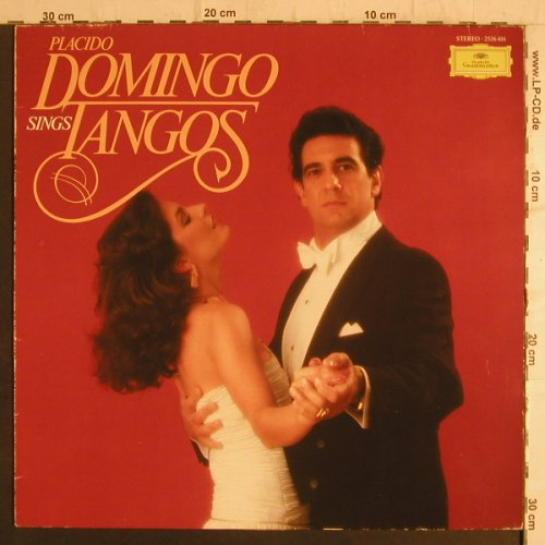 Domingo,Placido: sings Tangos, Deutsche Gramophon(2536 416), D, 1981 - LP - K9424 - 5,00 Euro