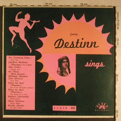 Destinn,Emmy: sings, Scala(804), US,  - LP - K9496 - 7,50 Euro