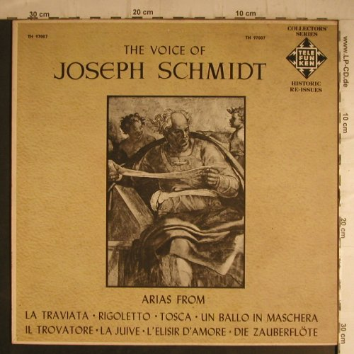 Schmidt,Joseph: The Voice of, Telefunken(TH 97007), US,  - LP - K9611 - 9,00 Euro