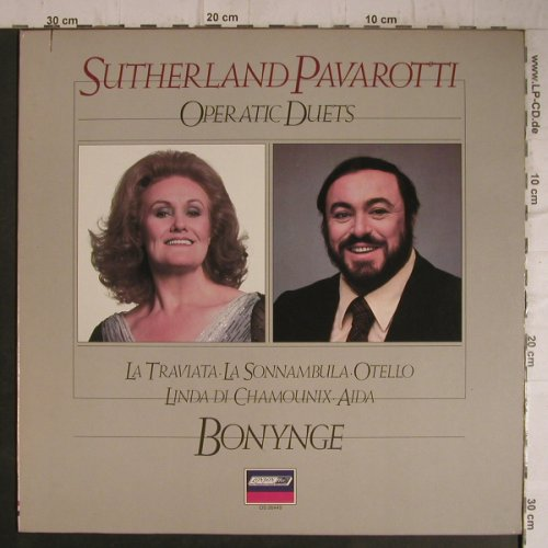 Sutherland,Joan/Pavarotti: Operatic Duets, London ffrr(OS 26449), NL, Ri, co, 84 - LP - K9648 - 6,00 Euro