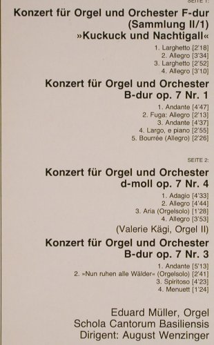 Händel,Georg Friedrich: Orgelkonzerte,Kuckuck u.Nachtigal.., D.Gr. Resonance(2535 264), D,Ri, 1967 - LP - L1006 - 6,00 Euro