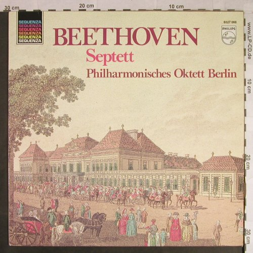 Beethoven,Ludwig van: Septett Es-Dur op.20, Philips Sequenza(6527 066), NL,  - LP - L1105 - 7,50 Euro