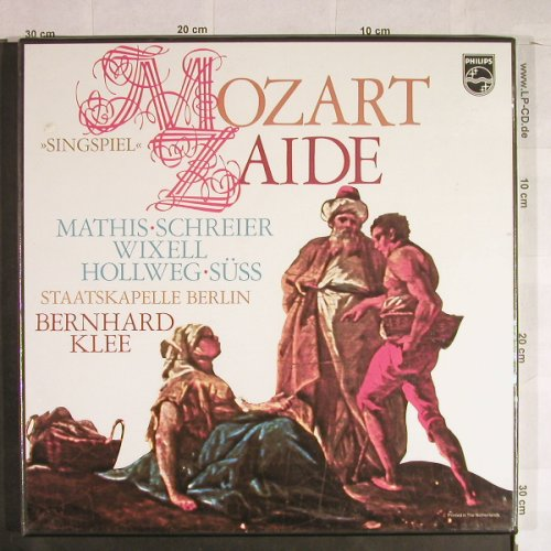 Mozart,Wolfgang Amadeus: Zaide, Singspiel, Box, FS-New, Philips(6700 097), NL, 1976 - 2LP - L1257 - 17,50 Euro