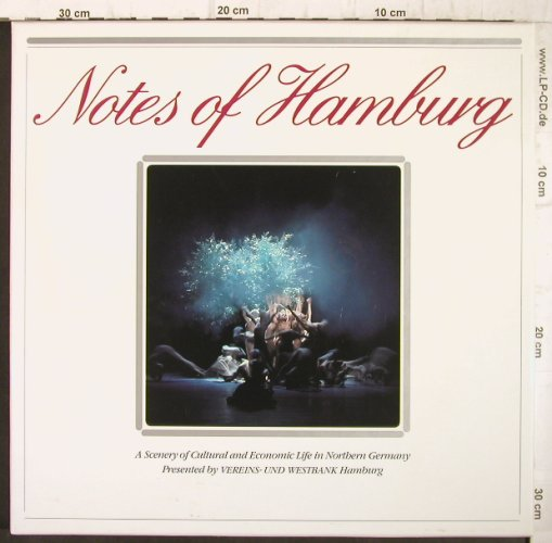 V.A.Notes of Hamburg: Mendelssohn,Ligeti,Mahler,Bach.., G.Gr.(410 076/410 077), D, Box, 1983 - 2LP - L137 - 9,00 Euro