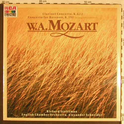 Mozart,Wolfgang Amadeus: Clarinet Concert k.622/Bassoon,k191, RCA Red Seal(RL 83934), D, FS-New, 1986 - LP - L1698 - 9,00 Euro