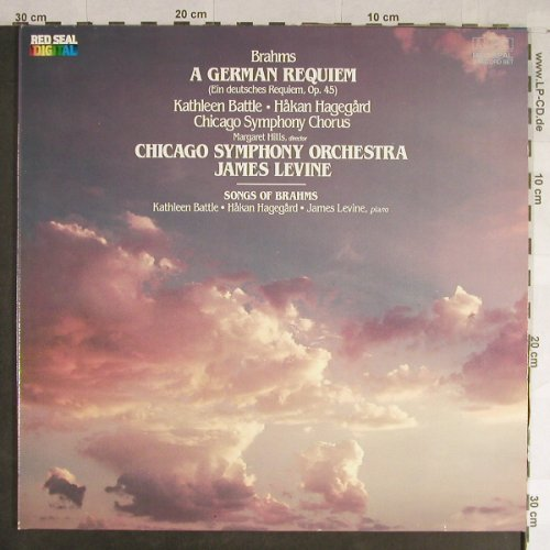 Brahms,Johannes: A German Requiem, op.45, Foc, RCA Red Seal(RL 85002(2)), D, 1984 - 2LP - L1740 - 9,00 Euro