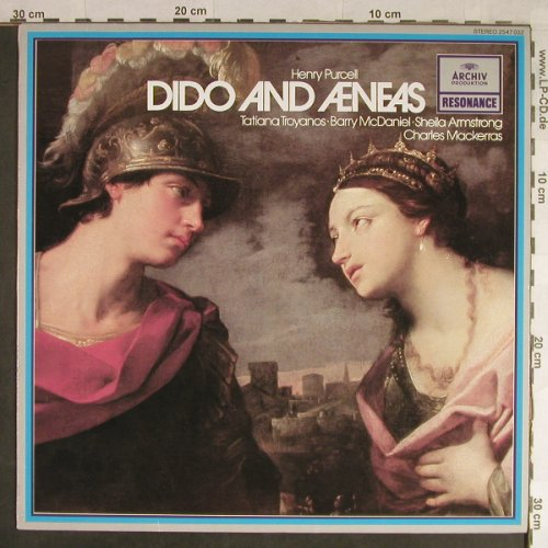 Purcell,Henry: Dido and Aeneas, Archiv Resonance(2547 032), D, Ri, 1968 - LP - L1757 - 6,00 Euro