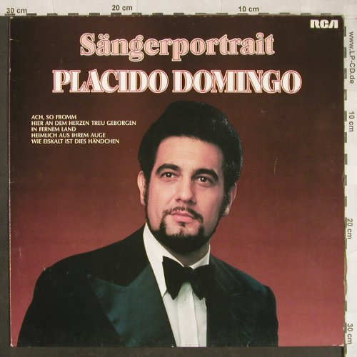 Domingo,Placido: Sängerportrait, Club Ed., RCA Red Seal(34 188-3), D, 1976 - LP - L2009 - 5,00 Euro