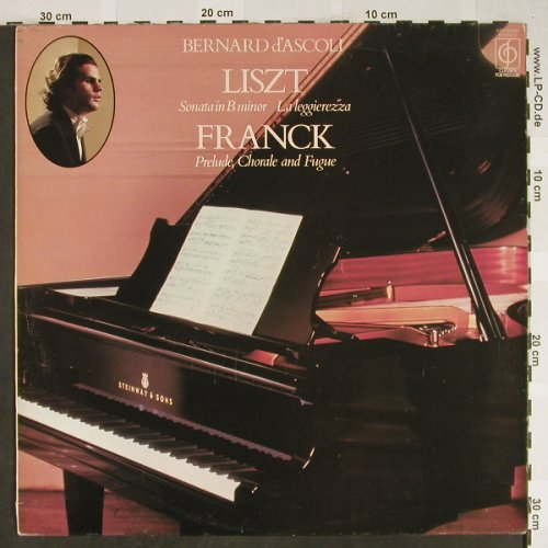 d'Ascoli,Bernard: Liszt Sonata in B minor,Franck, Classics for Pleasure(CFP 40380), UK,m-/vg+,  - LP - L2206 - 5,00 Euro