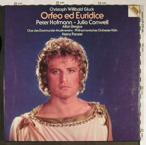 Gluck,Christoph Willibald: Orfeo ed Euridice, Box, Vipro Classic/Metronome(0180.088), D, 1983 - 3LP - L2313 - 9,00 Euro