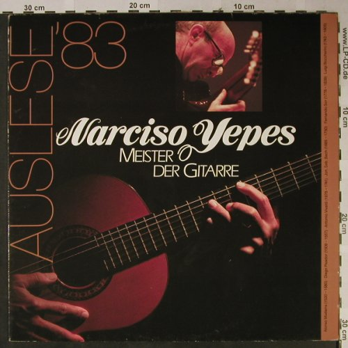 Yepes,Narciso: Meister der Gitarre, D.Gr. Auslese'83(2891 412), D,  - LP - L2412 - 5,00 Euro