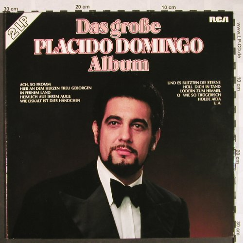 Domingo,Placido: Das Große P.D. Album,Foc, RCA Red Seal(26.48076), D, 1976 - 2LP - L297 - 7,50 Euro