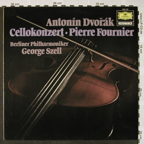 Dvorak,Antonin: Cellokonzert H-Moll op.104, Ri, D.Gr. Resonance(2535 106), D, Ri 1975, 1962 - LP - L3166 - 6,00 Euro