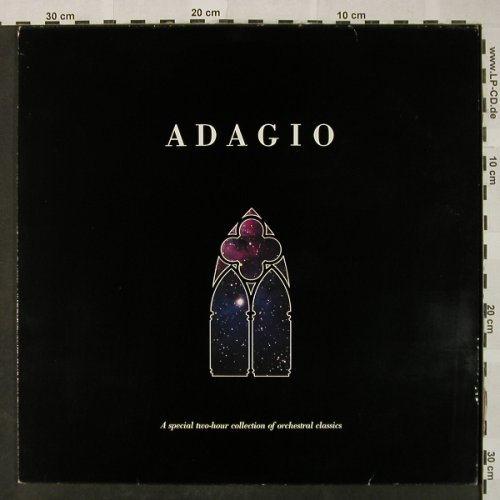 V.A.Adagio - A Special Two-hour: Collection Of Orchestral Classics, Celestrial(16.48500), D, 1984 - 2LP - L3332 - 6,00 Euro