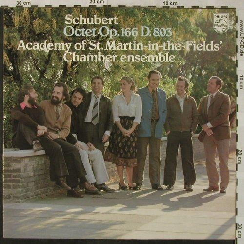 Schubert,Franz: Octet Op.166 D.803, Philips(9500 400), NL, 1978 - LP - L3454 - 6,00 Euro