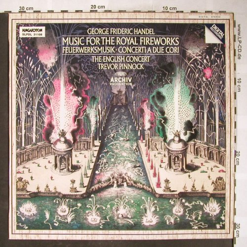 Händel,Georg Friedrich: Musik for the Royal Fireworks, Hungaroton(SLPDL 31108), H, 1985 - LP - L3582 - 5,00 Euro
