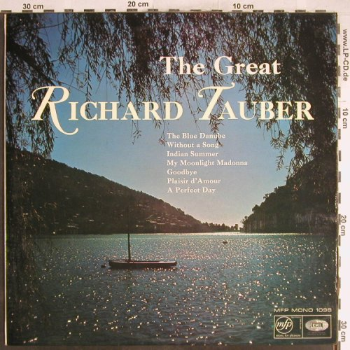 Tauber,Richard: The Great cond.by. Henry Geehl, MFP(1098), UK,  - LP - L3729 - 5,00 Euro