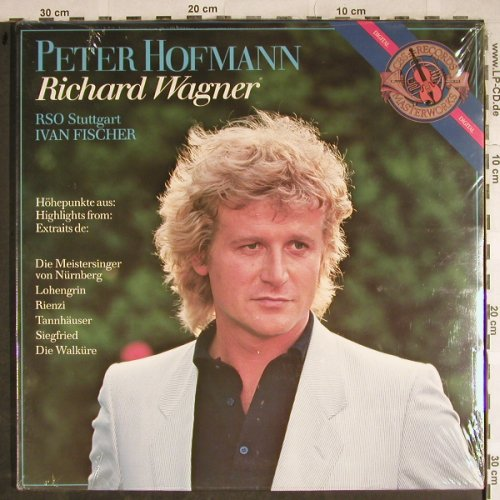 Hofmann,Peter: Richard Wagner, FS-New, CBS(D 38931), NL, 1983 - LP - L3856 - 7,50 Euro