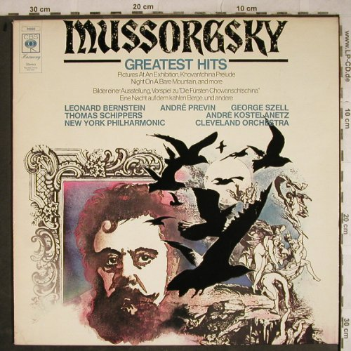 Mussorgsky,Modest: Greatest Hits, CBS(30 050), NL, 1974 - LP - L4077 - 3,00 Euro
