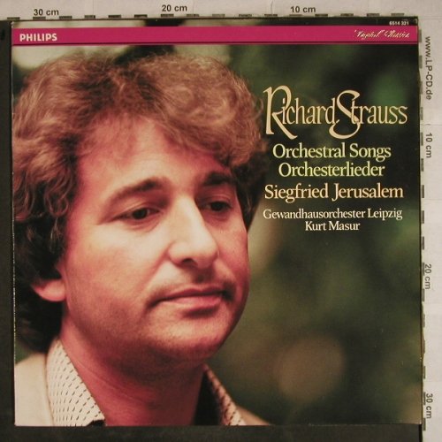 Strauss,Richard: Orchestral Songs Orchesterlieder, Philips(6514 321), NL,  - LP - L4193 - 6,00 Euro