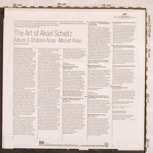Schiøtz,Aksel: The Art of, m-/VG+,toc,stoc, Seraphim(60227), US,  - LP - L4421 - 4,00 Euro