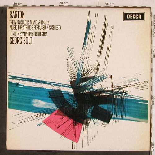 Bartok,Bela: The Miraculous Mandarin suite, Decca(SXL 6111), UK, 1964 - LP - L4436 - 12,50 Euro