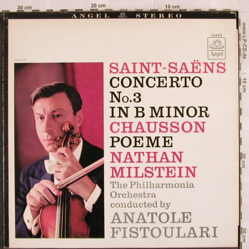 Saint-Saens,Camille / Chausson: Concerto No.3 b-minor / Poeme, Angel(S 36005), US,vg+/m-,  - LP - L4465 - 5,00 Euro