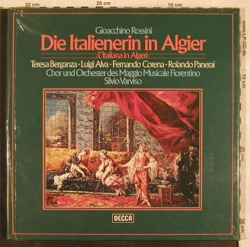 Rossini,Gioacchino: Die Italienerin In Algier,Box, Decca(6.35158 FK), D, FS-New, 1964 - 3LP - L4655 - 14,00 Euro