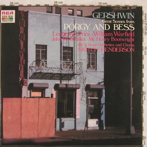 Gershwin,George: Porgy and Bess-Great Scenes(1963), RCA(GL 85234), D, 1986 - LP - L4670 - 5,00 Euro
