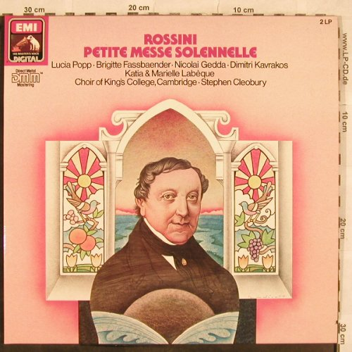 Rossini,Gioacchino: Petite Messe Solenelle,Foc, EMI(27 0316 3), D, co, 1985 - 2LP - L4691 - 7,50 Euro