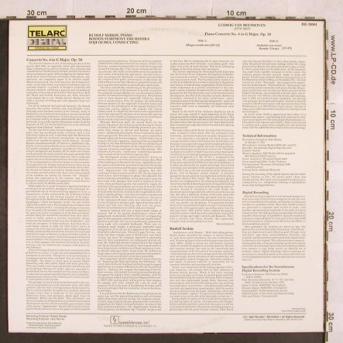 Beethoven,Ludwig van: Piano Concerto No. 4 G Major,op.58, Telarc(DG-10064), US, 1982 - LP - L4749 - 9,00 Euro