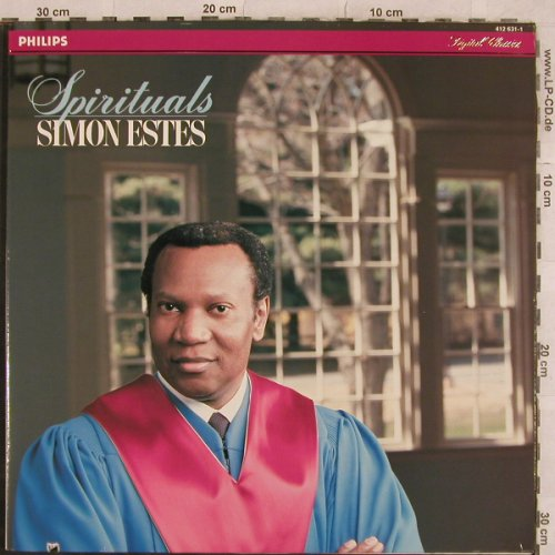 Estes,Simon: Spirituals,Foc, Philips(412 631-1), NL, Co, 1984 - LP - L4895 - 4,00 Euro
