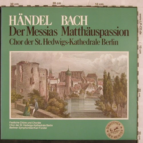 Händel,Georg Friedrich / Bach: Der Messias / Mathäuspassion, Eurodisc(87 671 XAK), D,  - LP - L4901 - 5,00 Euro