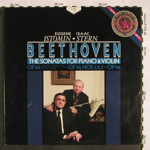 Beethoven,Ludwig van: The Sonatas for Piano&Violin, Vol.2, CBS(12M 39681), NL, m-/vg+, 1986 - 2LP - L5096 - 12,50 Euro