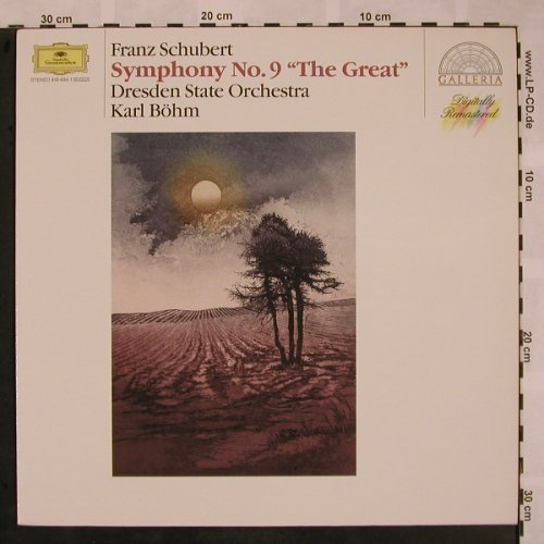 Schubert,Franz: Symphonie No.9 - The Great, D.Gr. Galleria(419 484-1), D, 1979 - LP - L5240 - 5,00 Euro